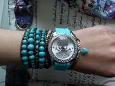 Skull Watch Turquoise - Yes please!!!!
