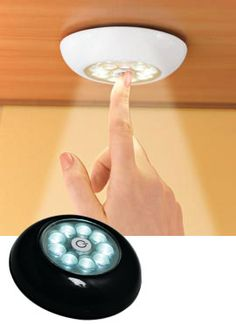 Superbrite Touch Light, Tap Light, Stick-on LED Light | Solutions