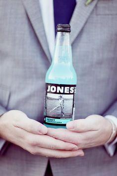 Jones soda. refreshments! lol