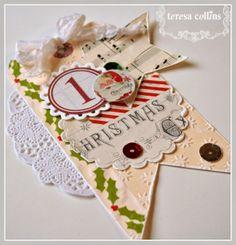 CHerInspirations: Teresa Collins eBosser 'In Time for the Holidays' Blog Hop!