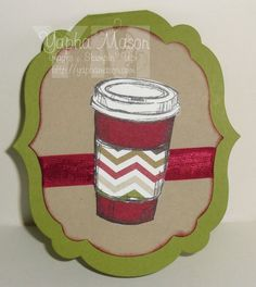 Perfect Blend Gift Card Holder by Yapha Mason