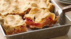Apple-Raspberry Slab Pie