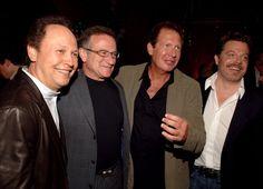 Billy Crystal, Robin Williams, Garry Shandling & Eddie Izzard