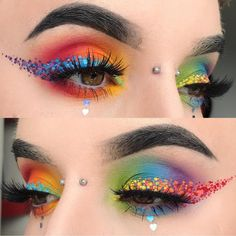 "8,851 Likes, 40 Comments - Sugarpill Cosmetics (@sugarpill) on Instagram: ""Game over, @kayteeellen wins at the internet! She created this brilliantly gorgeous #pride look…"""