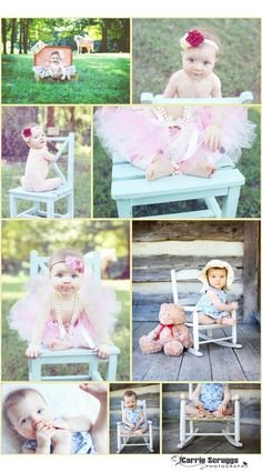 7 month old baby girl- Carrie Scruggs Photography
