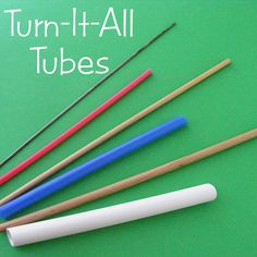 What You Get These are the tools I use to turn tubes of fabric right side out. They're so much fun! Kids especially love to use them - they're like magic! I mostly use them for turning arms and legs a