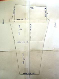 Leggings Pattern and tutorial