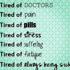 Tired of... Chronic Migraines