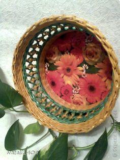 Master-class productos de artesanía Decoupage Weaving nuevo pen prueba Papel prensa Papel Servilletas Pajas foto 1