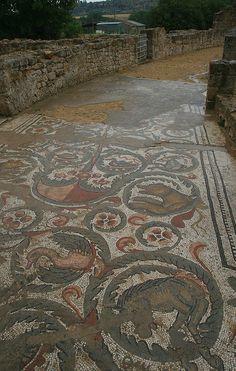 ~ Mosaics at Villa Romana del Casale, Sicily.