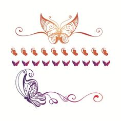 Butterflies & Nails Tattoos Fake Tattoos, Temporary Tattoos, Cool Tattoos, Tatoos, Butterfly Nail, Butterfly Tattoos, Nail Tattoo, Top Blogs, T 4