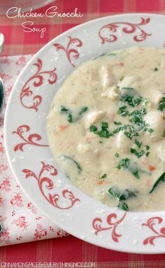 Chicken Gnocchi Soup - Olive Garden Copycat