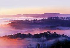 Swan Ridge At Sunrise by Marcia Colelli #sunrise #landscape