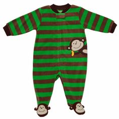 Monkey onesie The Babys, Cute Baby Girl, Cute Babies, Niñas Carters Baby, Baby Boy Outfits, Kids Outfits, Toddler Themes, Baby Sleepers, Toddler Dolls