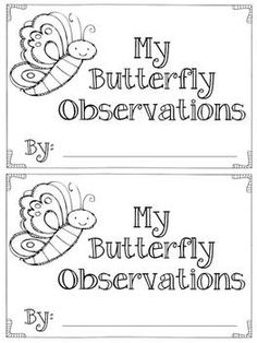Life Cycle of a Butterfly (cut, paste and write