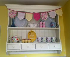 Shabby Chic Wall Unit @ the pastel patch