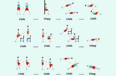 Edzésterv nőknek: 12 gyakorlat kezdőknek teljes testre | femina.hu