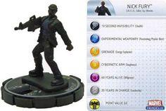Nick Fury - 2-11 (Iron Man Armor Wars) - Iron Man Armor Wars Mega Battle Pack - HeroClix - Superhero Genre RPGs - RPGs by Genre - D & RPGs