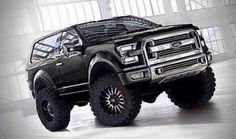 2016 Ford Bronco Concept Black
