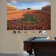 """University of Tennessee - Neyland Stadium Mural maybe for Marks """"Man Cave"""" office"""
