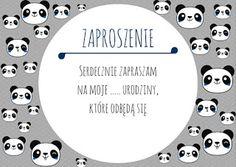 Urodziny dziecka – gotowe zaproszenia, dyplomy, życzenia (do pobrania DIY) – www.gadkamatka.pl