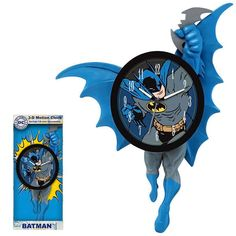 The Batman Motion Clock Features Moving Arms and Legs #x-men #superheroes trendhunter.com