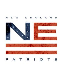 32d4473509 New England Patriots Vintage Logo Design - Gridiron League by Wes Kull.
