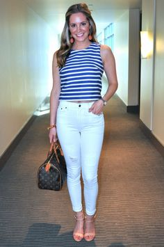 b47fb39ec735c Going out look  Pink backless bodysuit + white jeans (via Confessions of a Product  Junkie)