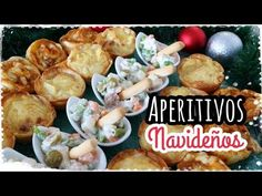 APERITIVOS NAVIDAD Fáciles y Rapidos - YouTube Appetizer Dips, Canapes, Food And Drink, Chicken, Meat, Youtube, Gastronomia, Hot Appetizers, Holiday Appetizers