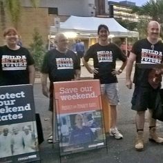 Build A Better Future team at Cairns Taipans game were excited with the huge support for retaining Weekend Penalty Rates. #proudtobeunion #betterfuture