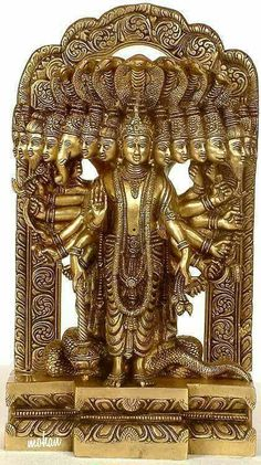 Lord Vishnu in his Cosmic Magnification, Brass Brass Statue Krishna Statue, Krishna Art, Hare Krishna, Indian Gods, Indian Art, Religions Du Monde, Hindu Statues, Lord Krishna Wallpapers, Lord Krishna Images