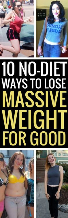 10 proven healthy ways to lose a lot of weight without dieting