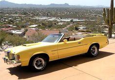1973 Mercury Cougar Convertible