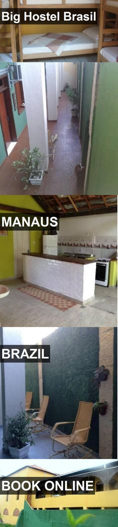 Big Hostel Brasil in Manaus, Brazil. For more information, photos, reviews and best prices please follow the link. #Brazil #Manaus #travel #vacation #hostel