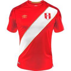 Umbro Peru Away Jersey 2018-s. Copa Del MundoCamisetas ... ae38c6a07bb