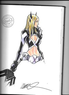 Magik by Humberto Ramos Comic Art