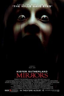 Mirrors (2008), Regency Enterprises, New Regency Pictures, and Luna Pictures with Kiefer Sutherland, Paula Patton, and Amy Smart. Good film!