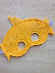 Fish Mask by Mahalo on Etsy