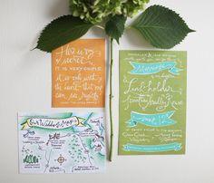 love this whimsical invitation set :)