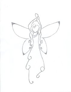 easy to draw fairies - Google Search