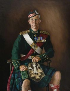 Le Major General A. Graham The Regimental Museum of the Argyll and Sutherland Highlanders, Stirling) de Flora Blackett Scottish Dress, Scottish Clothing, Scottish Fashion, European Fashion, British Army Uniform, British Uniforms, Military Art, Military History, Warriors Pictures