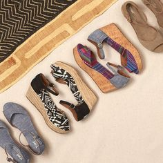 The Platform Wedge is an office favorite and we can't wait to see how our fans style it. #TOMSwedges