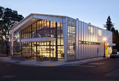 JENSEN Architects - Shed Store and Cafe at Healdsburg, CA
