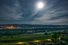 magic nature photography landscape beautiful switzerland fullmoon moon light night long exposure grass wood trees sky clouds mond himmel nacht feld magisch