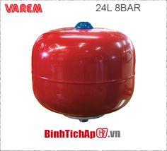Bình tích áp Varem 8 bar - 24Lit