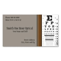 Optometrist business card check out more business card designs at optometrists business card colourmoves