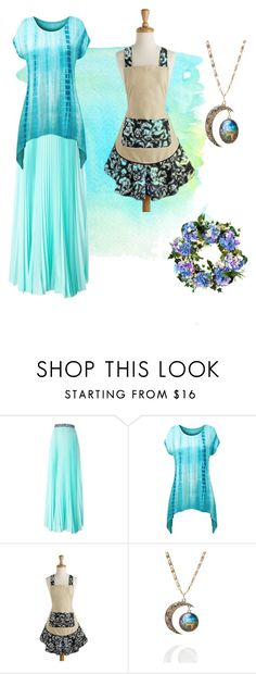 """Aquamarine Selene de Luna"" by theariesmoonprincess on Polyvore featuring interior, interiors, interior design, home, home decor, interior decorating, Christopher Kane, Design Imports, Fad Treasures and Improvements"