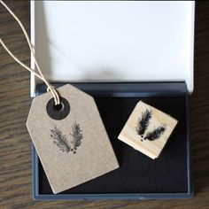 Winter Fir Tree Stamp and Ink Pad - available from www.theweddingofmydreams.co.uk