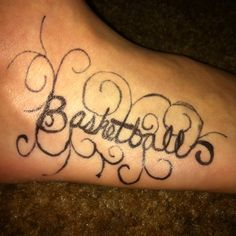 Basketball Tattoo Images | Basketball Tattoo Pictures and Graphics ...
