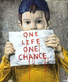 One Life, One Chance Una vida, una oportunidad #RefugiadosBienvenidos #refugeeswelcome #YoSoyRefugiada